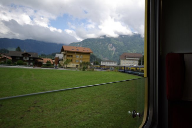 Rolling Stock Across The Swiss Countryside
