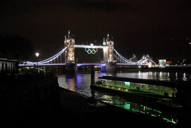 A Grainy Tower Bridge