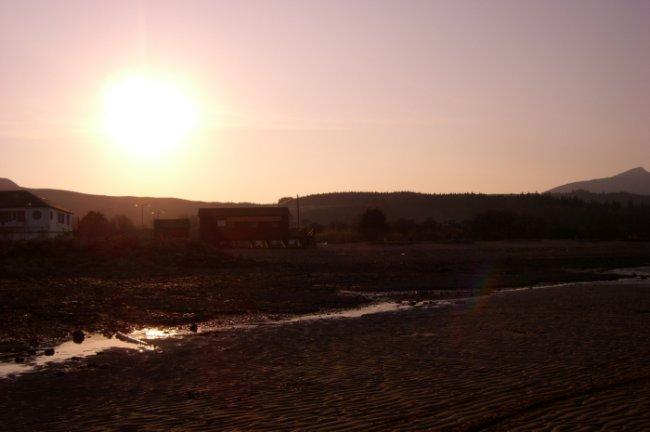 Sunset in Arran