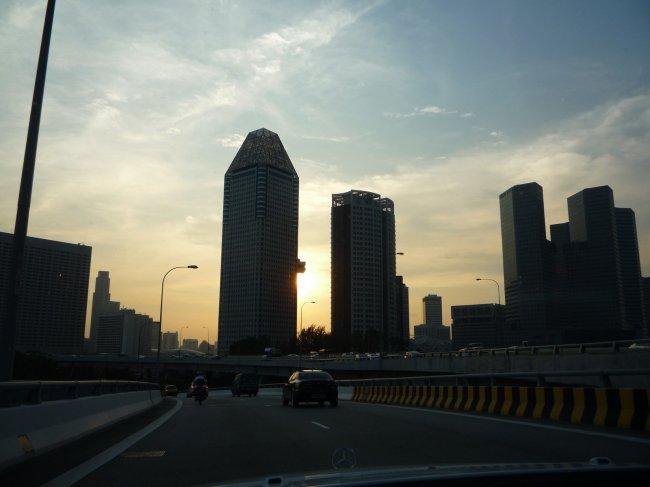 Sunset Over Metropolis