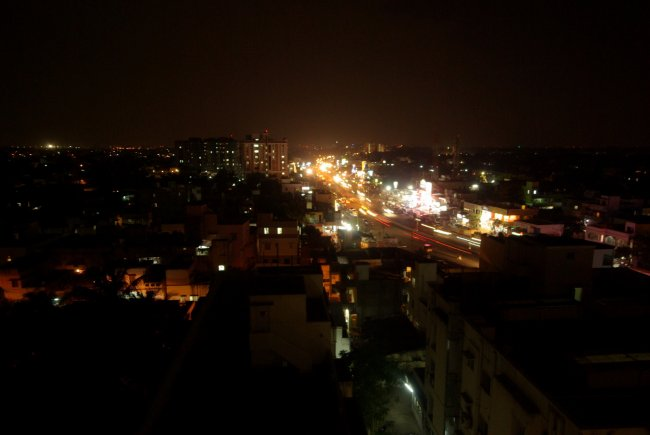 Chennai At Night