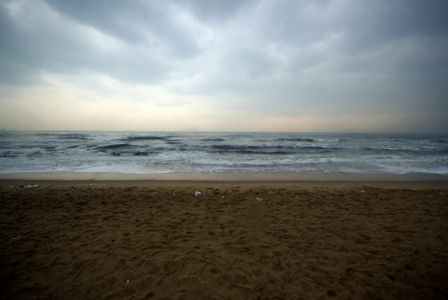 Beach At Chennai