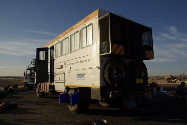 Tour D'Afrique (Lunch) Truck