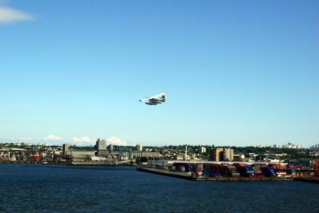 Blue Skies & A Float Plane